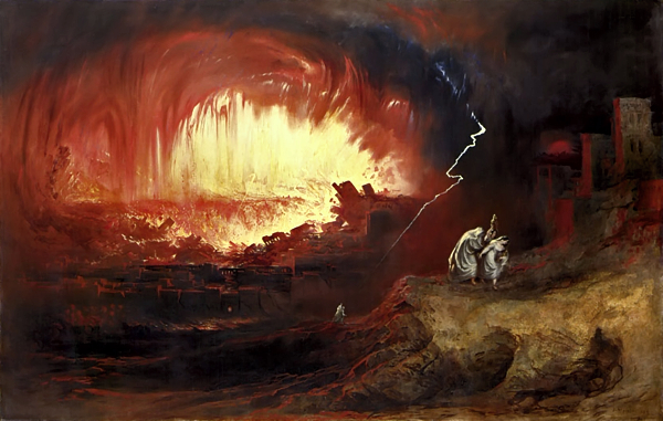 Sodom and GomorrahJohn Martin, 1854