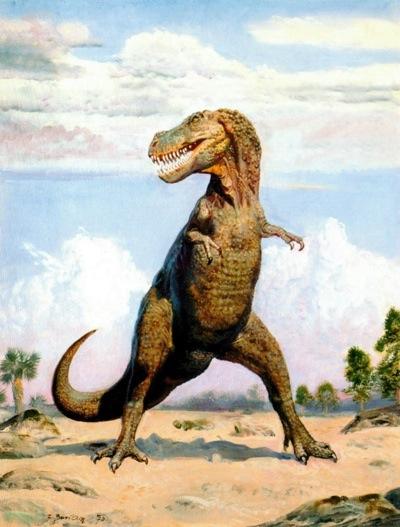The obligatory Tyrannosaurus Rex
