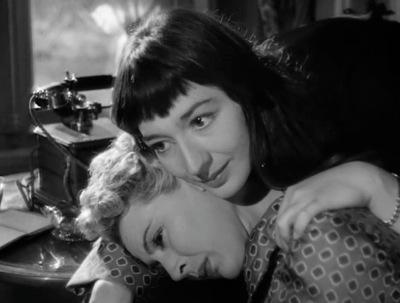 Juliette Gréco comforts Orpheus's wife
