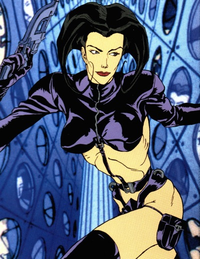 Aeon Flux – the animated series | John Guy Collick