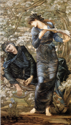 The Beguiling of Merlin - Edward Burne-Jones (1877)