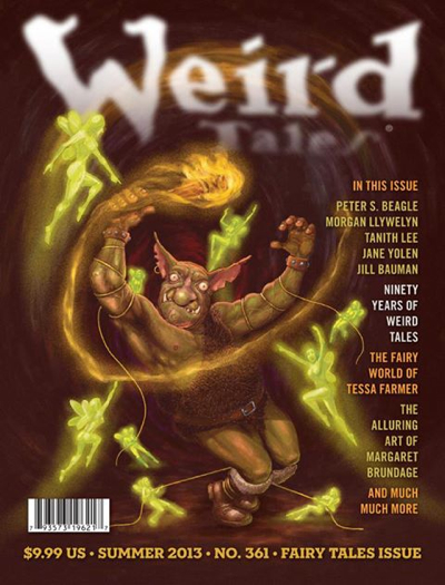 Weird Tales Issue 361. Fairy Tales Issue.