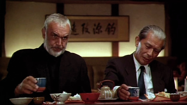 One of the funniest comedies ever to hit Japan - Sean Connery in Rising Sun