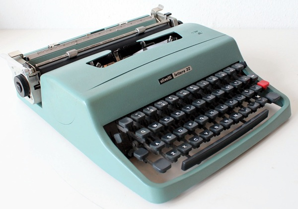 Olivetti Lettera 32, designed by Marcello Nizzoli in 1963