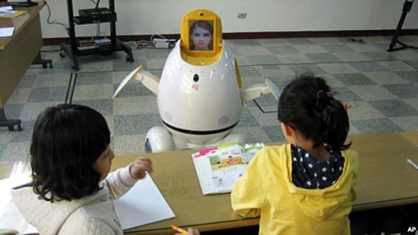 KoreanRobotTeacher