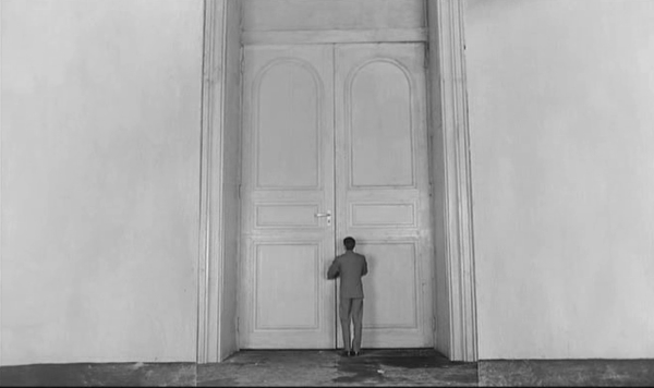 Scale distorted in Orson Welles' film of Kafka's The Trial.