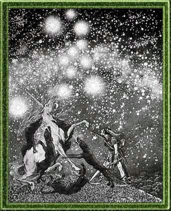 The Symbolist illustrator Sidney Sime's frontispiece to the 1924 limited edition