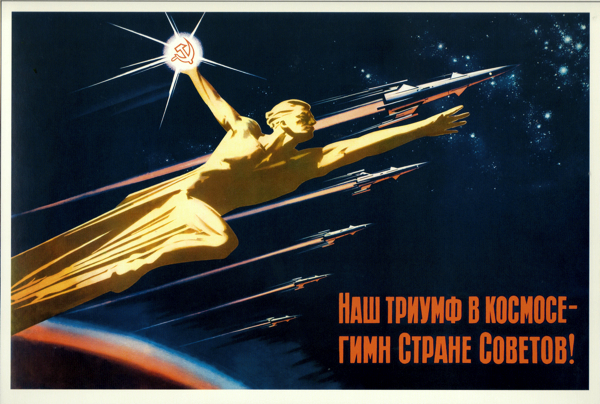 Our triumph in Space is a hymn to the Soviet nation!