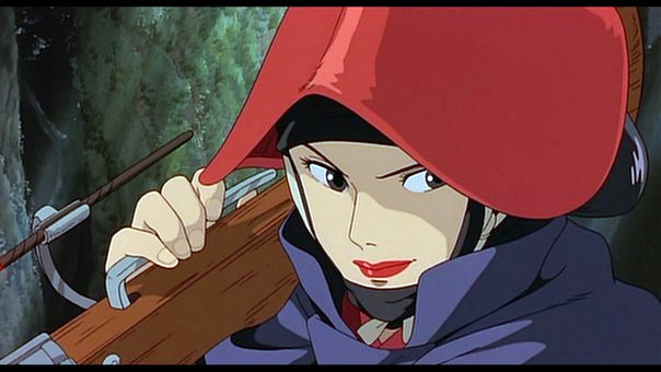 Lady Eboshi from Princess Mononoke
