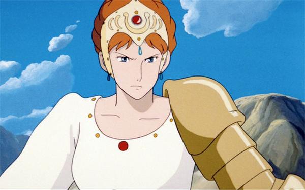 Princess Kushana from Nausicaa