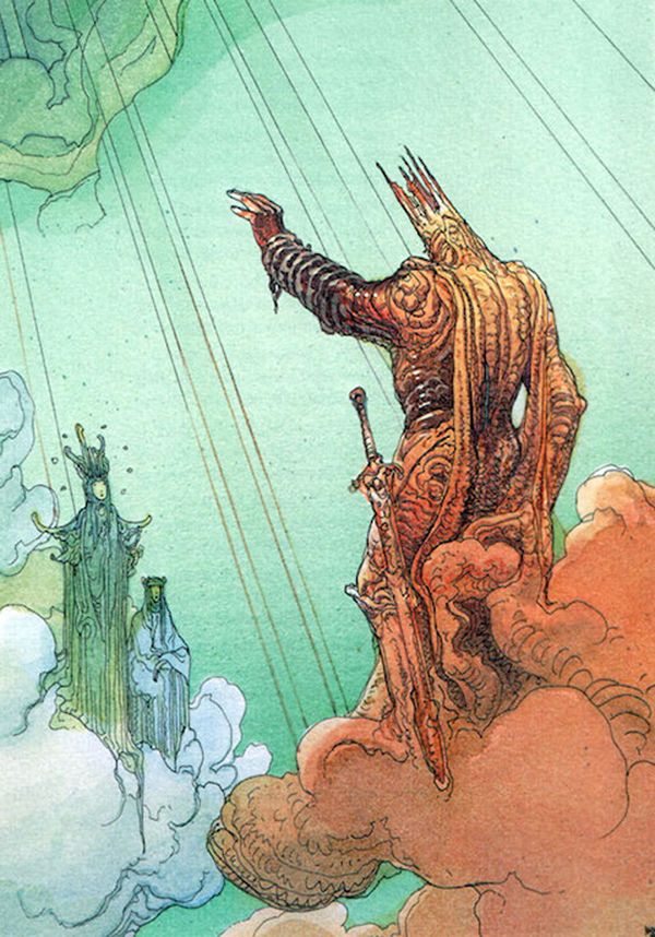 The ghost of Charles Martel. Moebius.