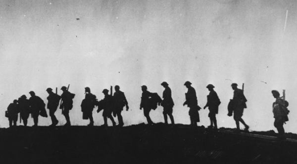 The study of English Literature was largely a response to the barbarism of WWI