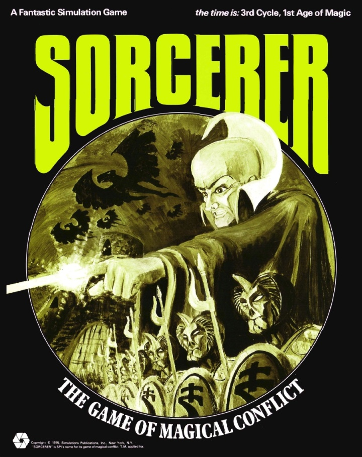 Sorcerer – The Game of Magical Conflict