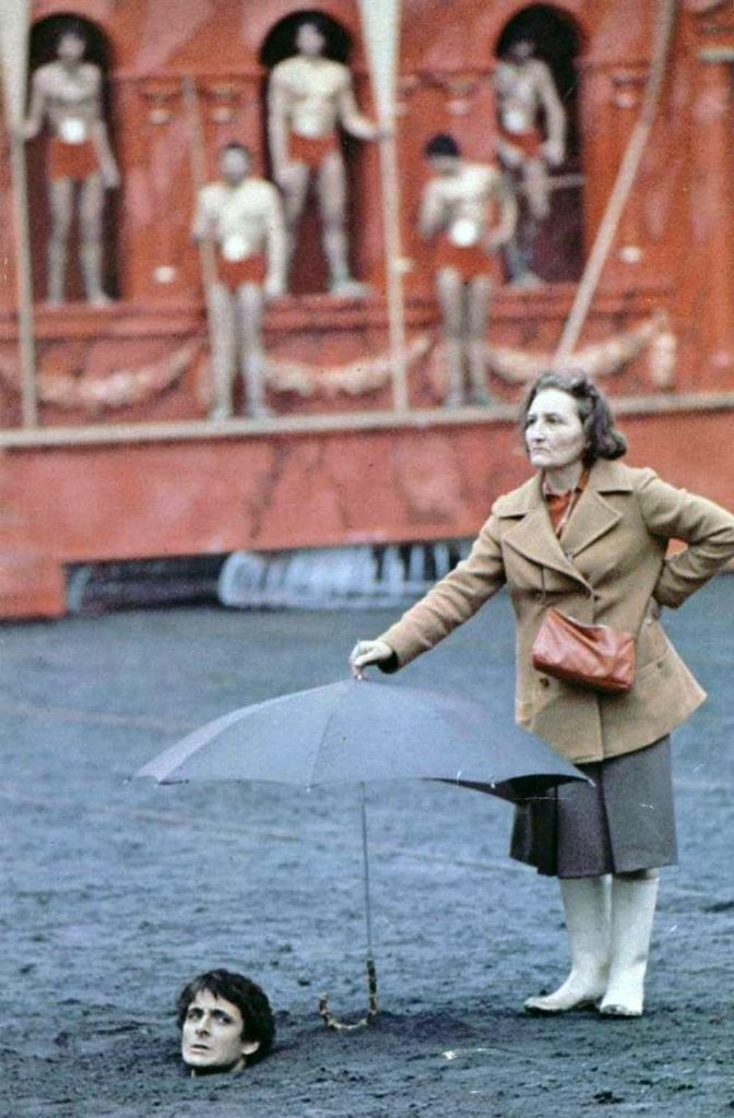 On the set of Caligula - the production team unconsciously create a Pasolini tribute that looks a lot more interesting than the film itself.