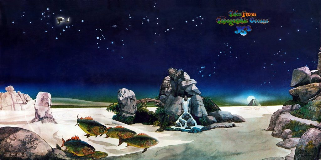 Roger Dean's classic cover for Tales from Topographic Oceans